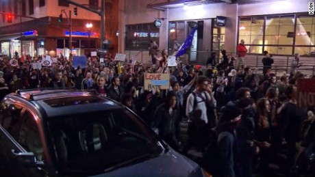 Portland police say protest is 'riot'