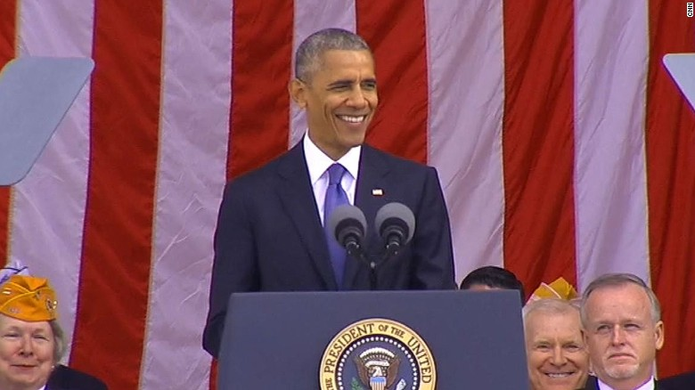 Obama delivers final Veterans Day address