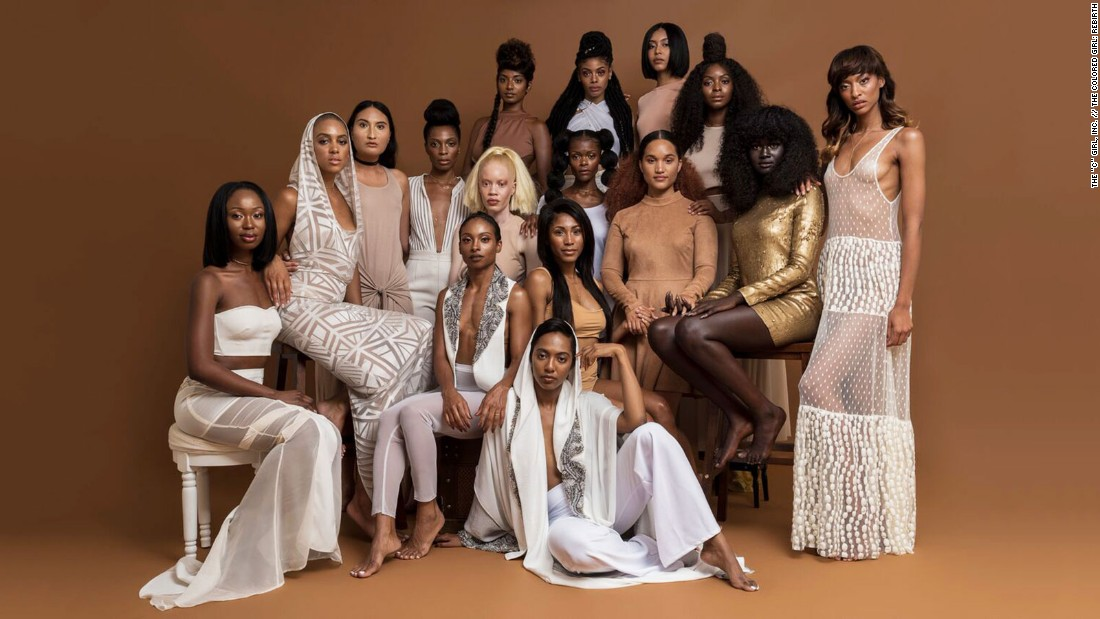 The campaign, which is led by creative agency The Colored Girl, is dedicated to promoting diverse perceptions of beauty in the fashion industry.
