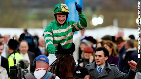 Jump jockey Nina Carberry has ridden six winners at the prestigious Cheltenham Festival.