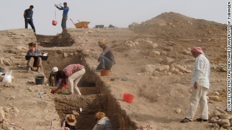 A team of 30 people from the local area and a German university conducted the dig.