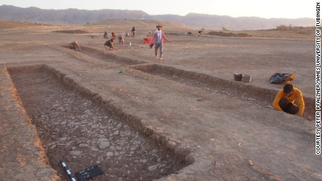 The city, which has only been partially excavated, measures around 1,000 meters by 500 meters.
