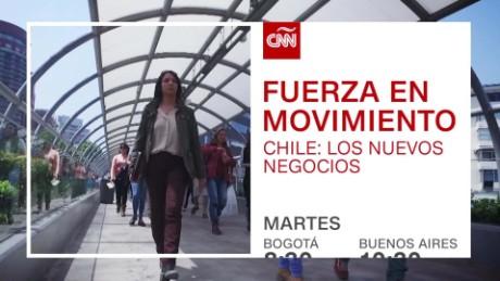 cnnee promo oficial fuerza en movimiento chile startups gabriela frias_00002516