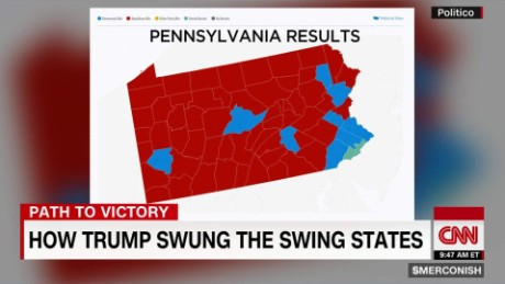 How Trump won swing state PA_00004303