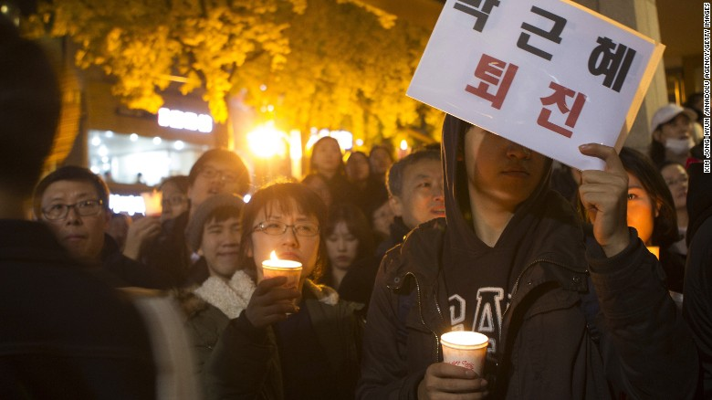 Frustrations have grown against the South Korean President, with more protests Saturday in Seoul.