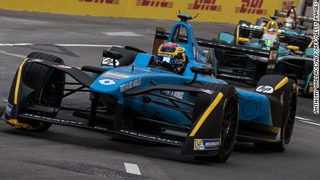 Sebastien Buemi continued his perfect start to the 2016/17 Formula E season