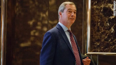 Farage predicts UK political earthquake if Brexit slowed