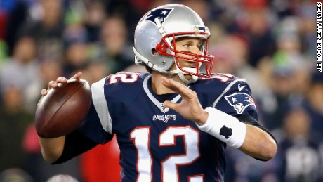 Tom Brady throws during the first quarter of a game against the Seattle Seahawks at Gillette Stadium on November 13 in Foxboro, Massachusetts. The Patriots lost to the Seahawks 31 - 24.