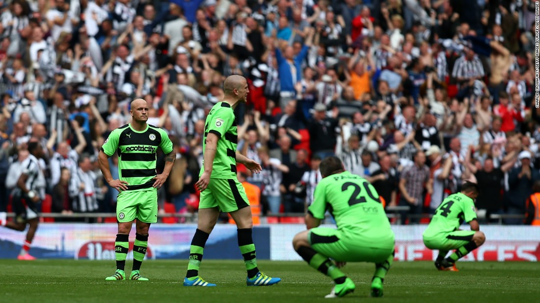 Last season, Forest Green narrowly missed out on promotion out of the National League -- the fifth tier of English football -- after losing 3-1 to Grimsby Town in the playoff final. But the men in green are flying high this season, hoping to make amends for last season's disappointment.