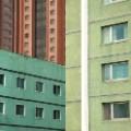 Pastel Building Pyongyang