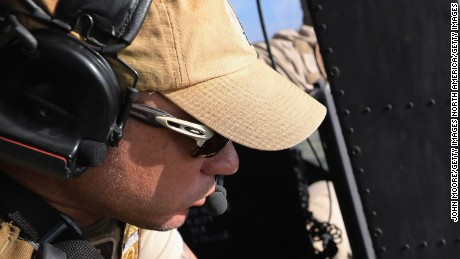 MCALLEN, TX - OCTOBER 18: A Customs and Border Protection agent scans the Rio Grande on the U.S.-Mexico border on October 18, 2016 in McAllen, Texas. U.S. Air and Marine Operations agents fly over border areas, coordinating with Border Patrol agents on the ground to stop undocumented immigrants and drug smugglers from entering the U.S. Immigration and border security have become major issues in the American Presidential campaign. (Photo by John Moore/Getty Images)