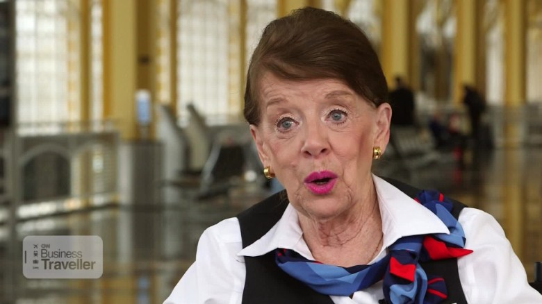 Lessons from 60 years as a flight attendant