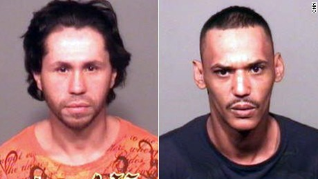 Wilson Eschevarria, left, and Anthony Hobdy have been accused in the beating of a Connecticut man.