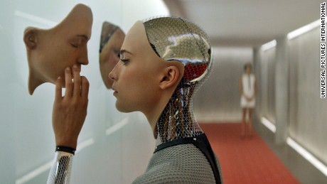 """Ex Machina"" (2015) imagines a near future in which artifical general intelligence has been realized."
