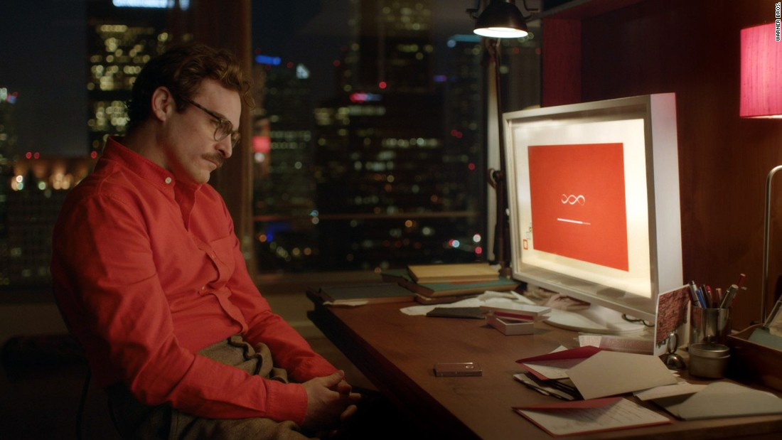 "In the film ""Her,"" Theodore Twombly (Joaquin Phoenix) is a lonely introvert who starts a relationship with an operating system named Samantha (Scarlett Johansson). They engage in phone sex, and she sends a sexual surrogate named Isabella to further their relationship."