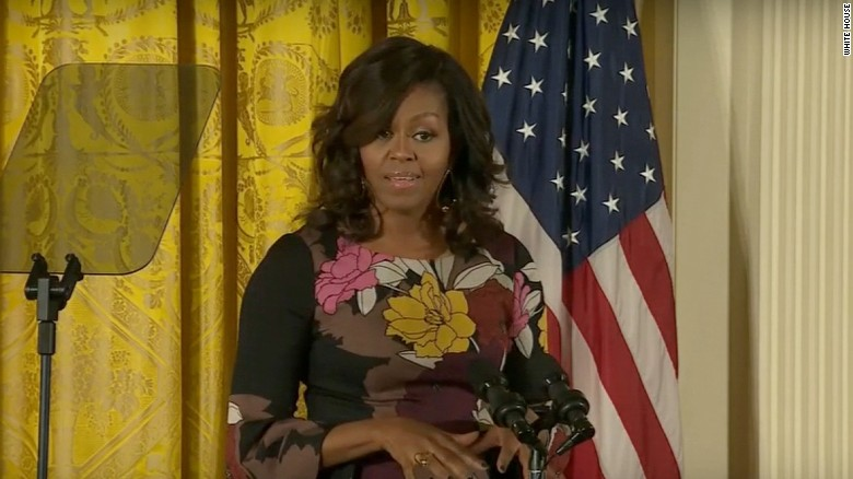 Michelle Obama on election: 'We are Americans first'