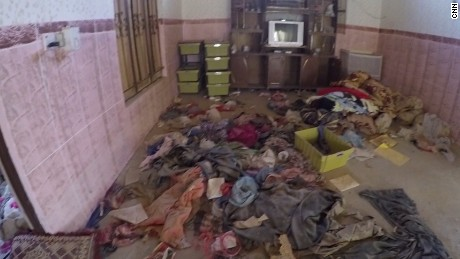 This is what an ISIS booby-trapped house looks like