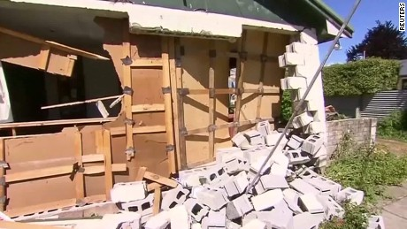 New Zealand dealing with earthquake aftermath