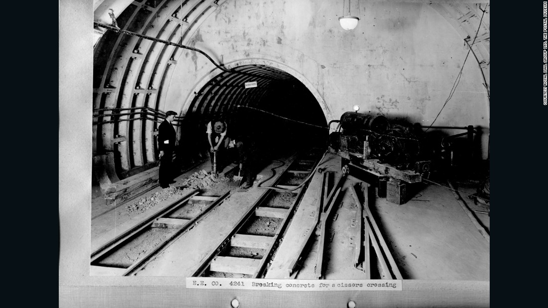 Tunneling work began in 1913, but would take much longer than expected due to the outbreak of the First World War.