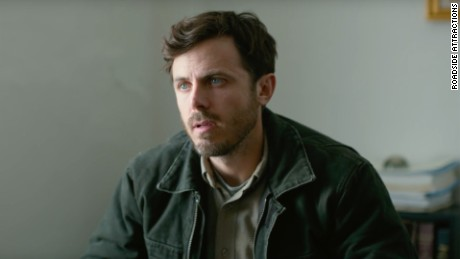 "Casey Affleck stars as an uncle who takes in his teenage nephew after the boy's father dies in ""Manchester by the Sea."""