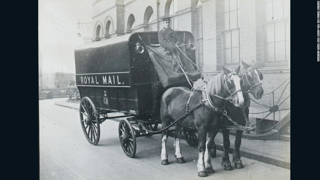 In the early 1900's, the General Post Office decided something had to be done to avoid the heavy, largely horse-drawn, London traffic.