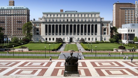 "Columbia University blamed the mistake on ""human error."""