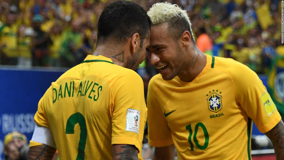 Neymar has netted 52 goals in 77 games for his country.