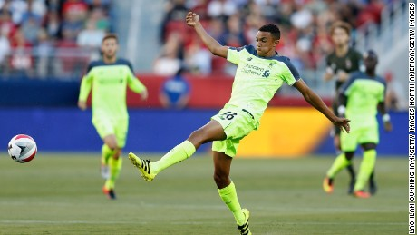 Trent Alexander-Arnold, 18, has been with the club since the age of six.