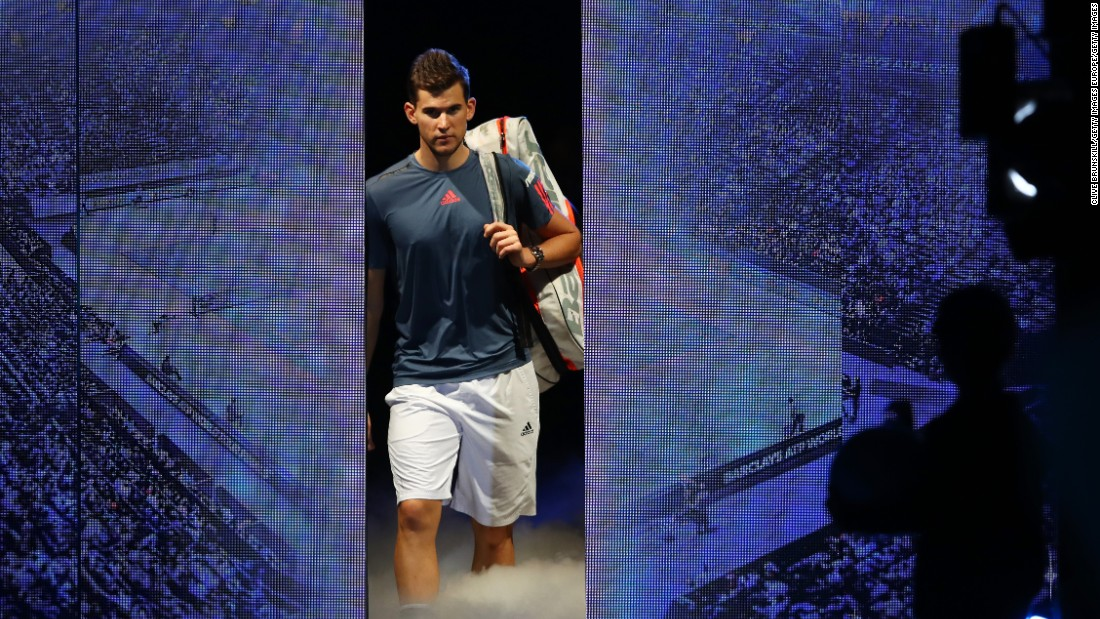 The last man to qualify for this year's event, Thiem is the youngest player at the finals and the first Austrian to take part in the singles since former world No.1 Thomas Muster in 1997. He may have lost out to Djokovic on Sunday, but boasted a 90.9% win percentage in deciding sets going into the tournament -- the highest proportion of any player on the tour to have started 25 matches or more.