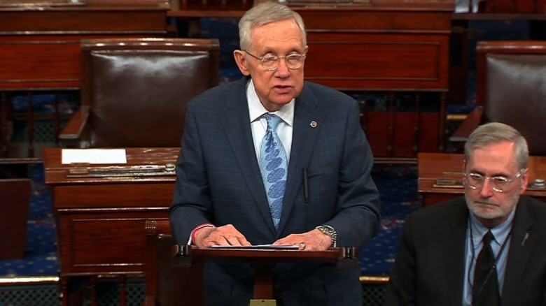 Reid: Stop hiding behind Twitter, drop Bannon