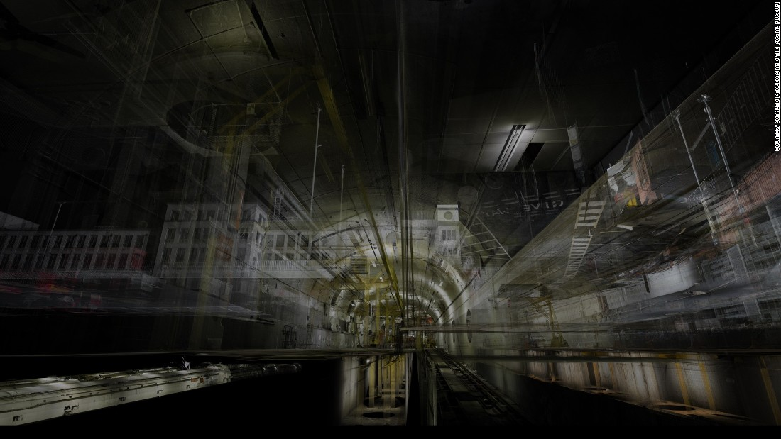 UK studio ScanLAB Projects have created digital 3D scans of the entire length of the Mail Rail.