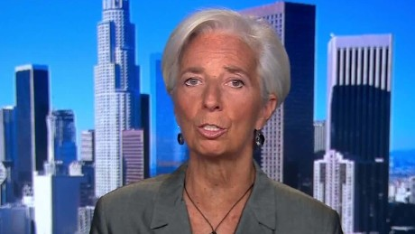 IMF head: Trump must go for 'inclusive' growth