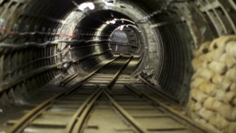 Take a look inside London's secret underground railway