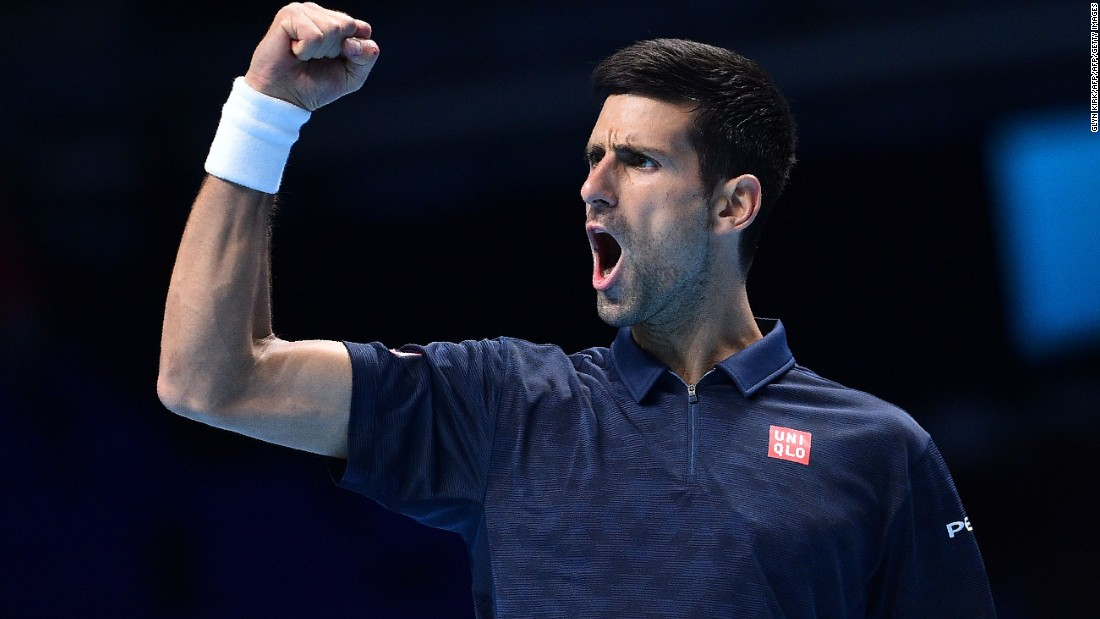 Novak Djokovic overcame big-hitting Milos Raonic at the ATP Finals in London, but victory was anything but straightforward.