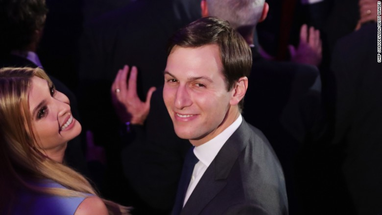 Kushner: Trump's secretary of everything?