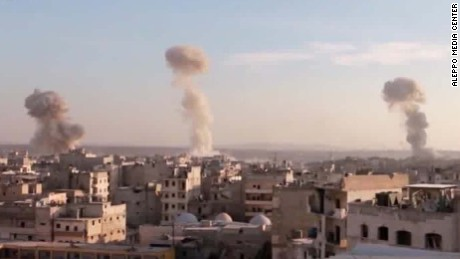 Heavy airstrikes resume on eastern Aleppo