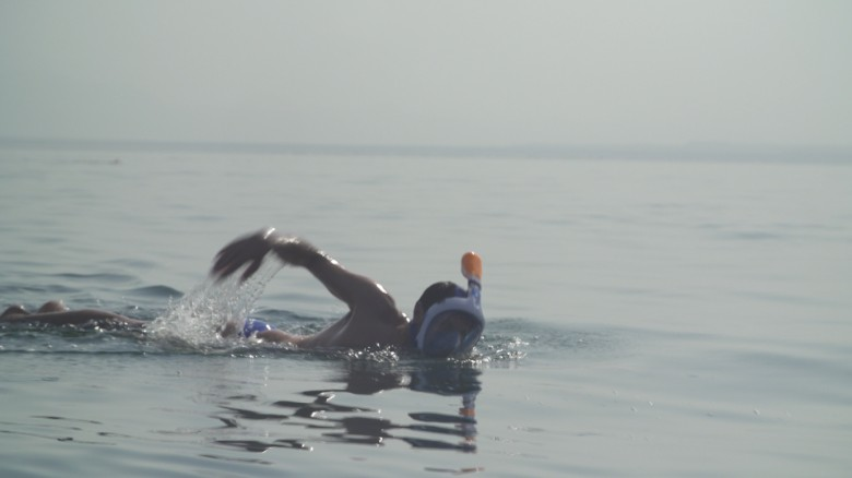 Surviving a 'Dead Sea' swim