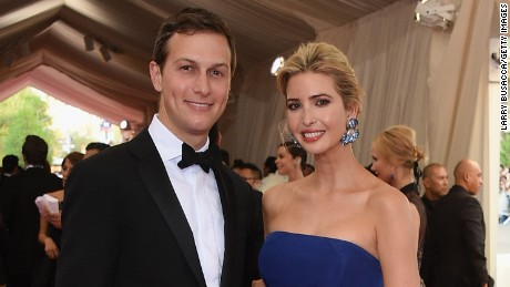 "NEW YORK, NY - MAY 04:  Jared Kushner and Ivanka Trump attend the ""China: Through The Looking Glass"" Costume Institute Benefit Gala at the Metropolitan Museum of Art on May 4, 2015 in New York City.  (Photo by Larry Busacca/Getty Images)"