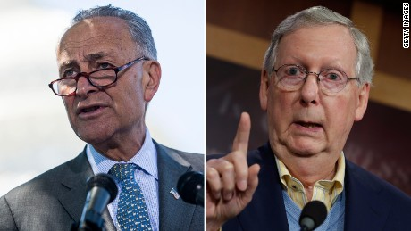McConnell, Schumer elected to top spots in Senate ahead of battles with Trump