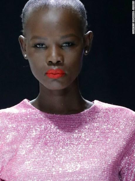 Nigerian fashion designer Lanre Da Silva Ajayi