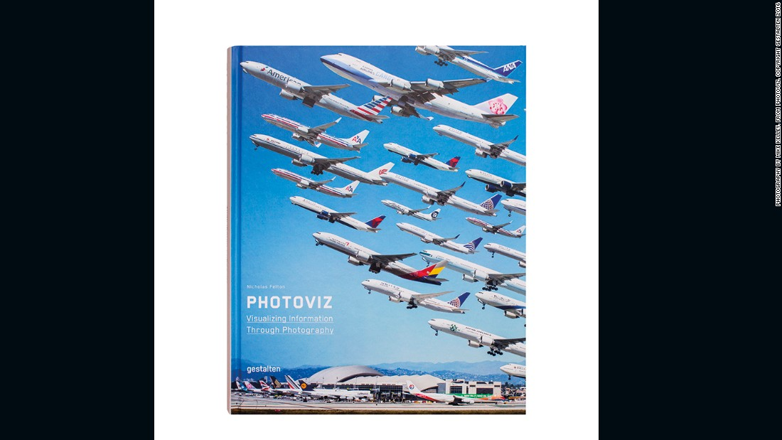 """PhotoViz: Visualizing Information Through Photography"" by Nicholas Felton, published by Gestalten, is out now."