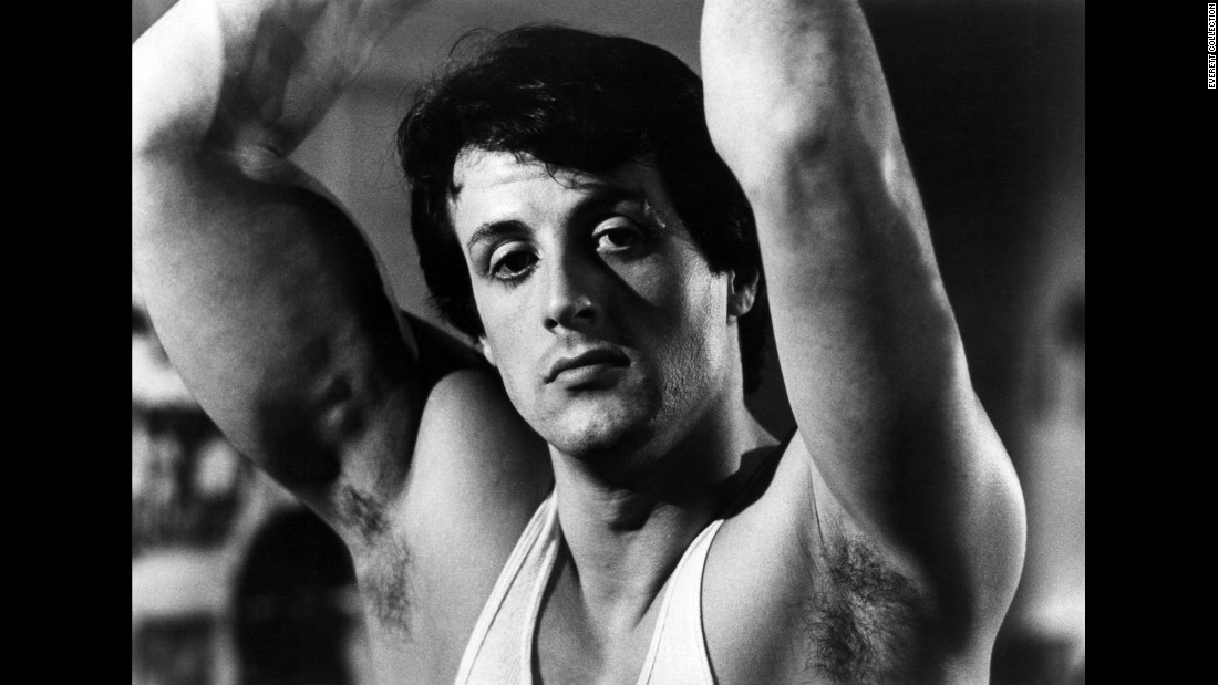 "Stallone played Rocky Balboa, a down-on-his-luck boxer who's given an unlikely title shot against the world heavyweight champion. Stallone wrote the screenplay to ""Rocky"" himself and sold it with one condition: that he be allowed to play the lead role."