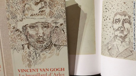 """Vincent van Gogh: The Lost Arles Sketchbook"" was unveiled to the public at a press conference in Paris on Tuesday."