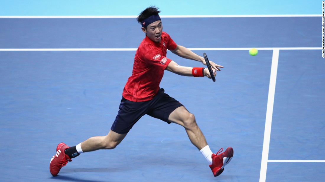 With the highest win percentage on the tour this year, the world No. 1 lined up against Nishikori in fine shape. But, converting just 51% of his first serves in an error-strewn opening set, Murray handed a number of break point opportunities to the world No. 5.
