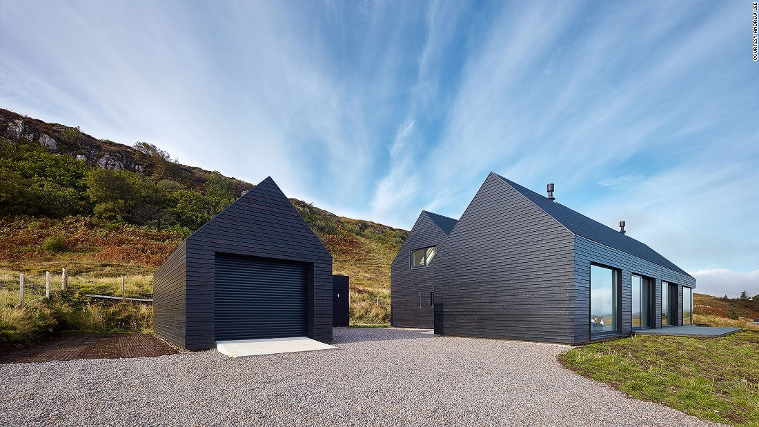 Dualcas' Colbost, located in Waternish on the Isle of Skye, won a 2014 Saltire Award. The property was designed by Mary Arnold-Forster whilst she was working at Scottish architecture firm Dualchas.