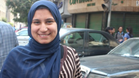 "Rawan Abdullah is a 22-year-old graduate who believes her first job will not cover her living expenses. ""Costs of transportation, clothes and electronics have all gone up,"" she said."