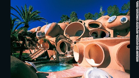 Palais Bulles by Antti Lovag (Cannes, France)