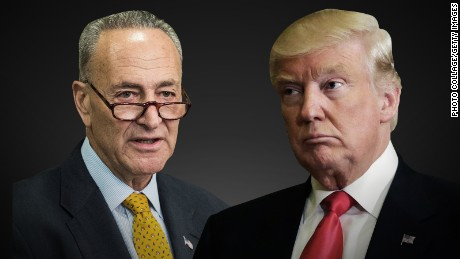 Democrats hope Trump meets his match in Schumer