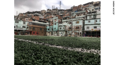 "Higino captures the ""wasted potential"" of Rio's favelas"