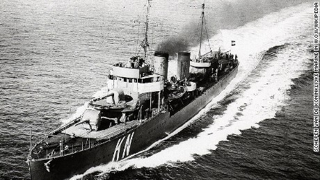 HNLMS Kortenaer was a destroyer from the Royal Netherlands Navy, named after 17th century Dutch Admiral Egbert Bartholomeusz Kortenaer.
